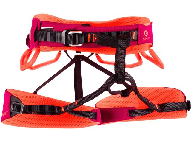 Mammut Comfort Knit Fast Adjust Baudrier Femme, sundown/safety orange